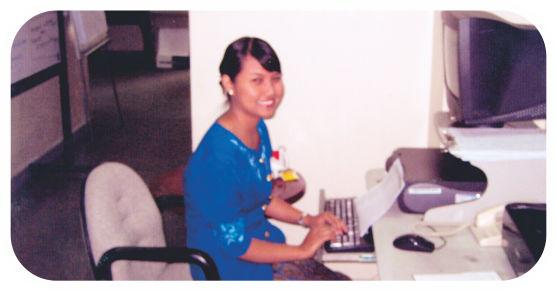 cerita sukses alumni pushkom Dian Septiana Rani