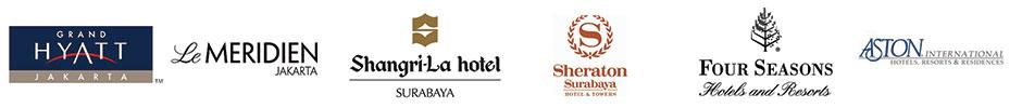 hotel di jakarta, bandung, surabaya dan semarang