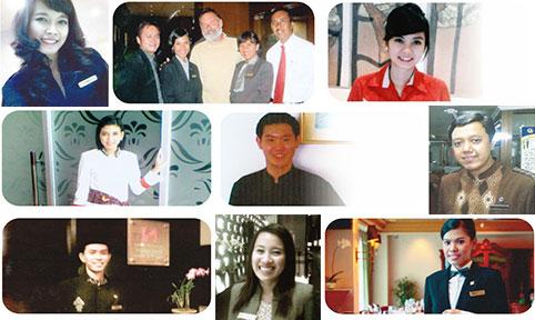 sepuluh ribu alumni sekolah perhotelan pushkom internasional